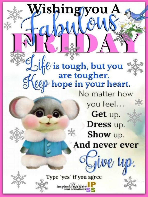 50 Friday Images, Greetings, Wishes And Quotes #fridayquotes