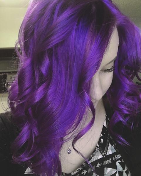 63 Purple Hair Color Ideas To Swoon Over Violet Purple Hair Dye Tips: Pin Von Tanzila Akter Munia Auf Hair Colour Ideas
