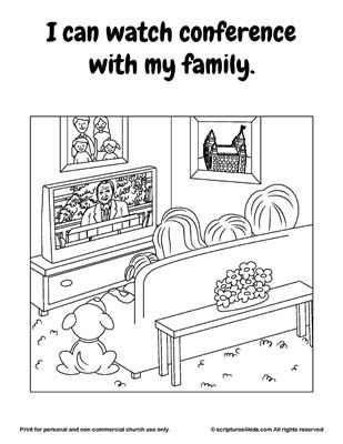 General Conference Packet For Nursery Age This Is My Favorite Conference Coloring Activ Church Activities Lds General Conference Activities Church Inspiration