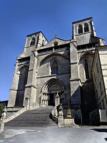 Eglise Abbatiale de la Chaise Dieu, Haute Loire, France