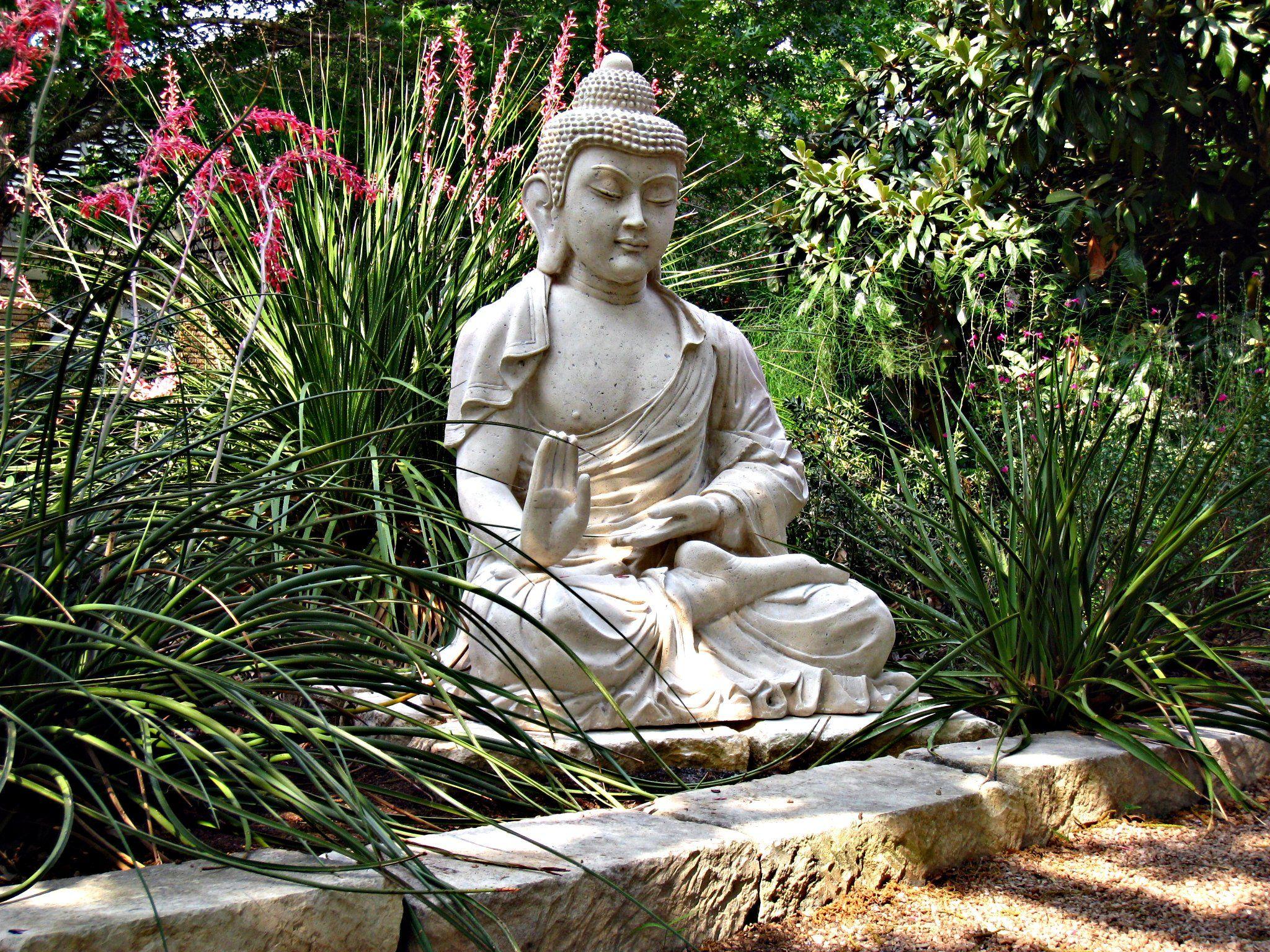 New Buddha Statue At Austin Zen Center