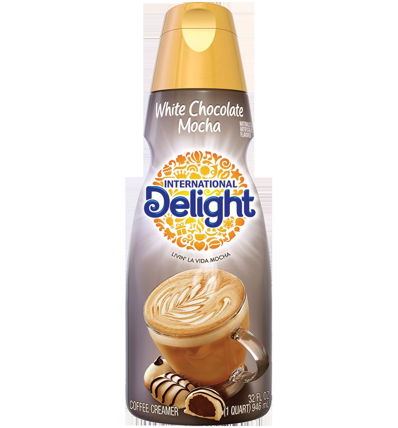 Homemade White Chocolate Mocha Coffee Creamer di 2020