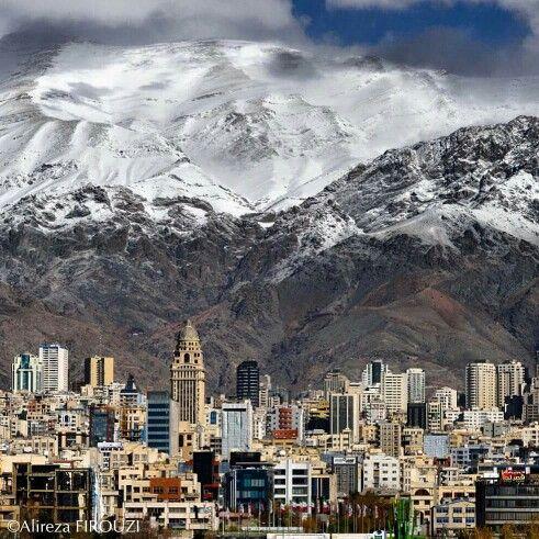 #Tehran#mountain#snow