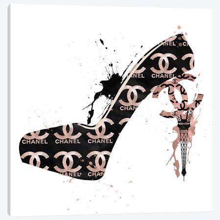 CC High Heels Fashion II Canvas Wall Art by Pomaikai Barron   iCanvas