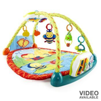 Bright Starts Bee With Me Tummy To Table Toy Activity Gym Bright Starts Baby Activity Gym Infant Activities