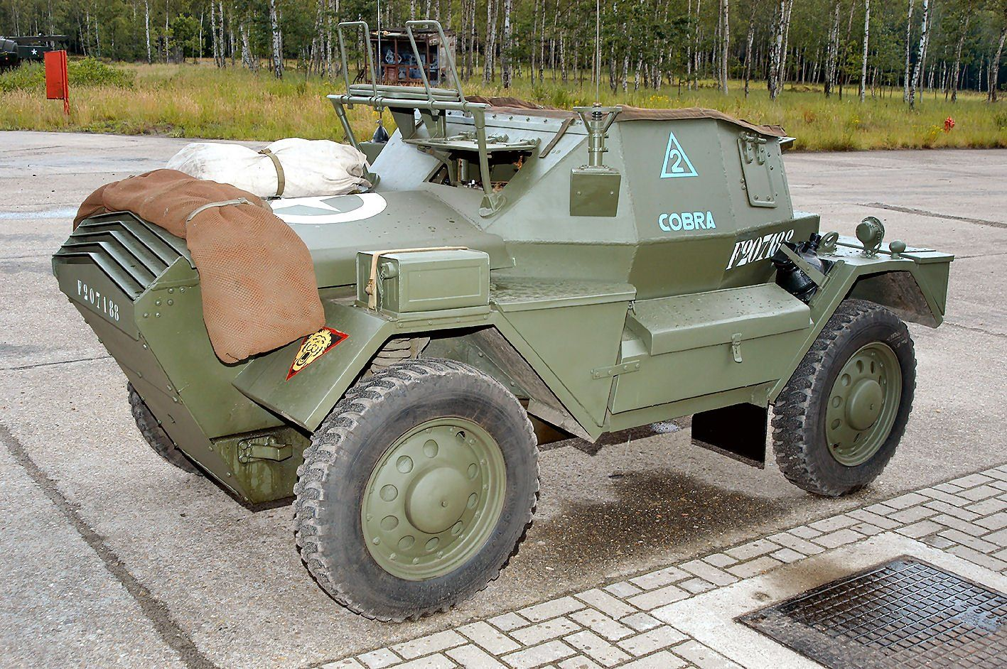 Daimler Dingo Scout Car Ww Ii With Images Armored Fighting