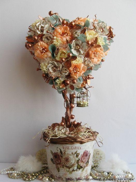 """Топиарното изкуство води началото си от градините от епохата на Римската империя. В своята """"Естествена история"""" (ценен труд от I век, който е източник на информация за културата, историята и естествено научните знания на древен Рим) Плиний Стари пише, че заслугата за създаването на първия топиарий принадлежала на един придворен на Юлий Цезар - Калвен. Дърветата топиарии получили бързо разпространение в атриумите на римските вили."""