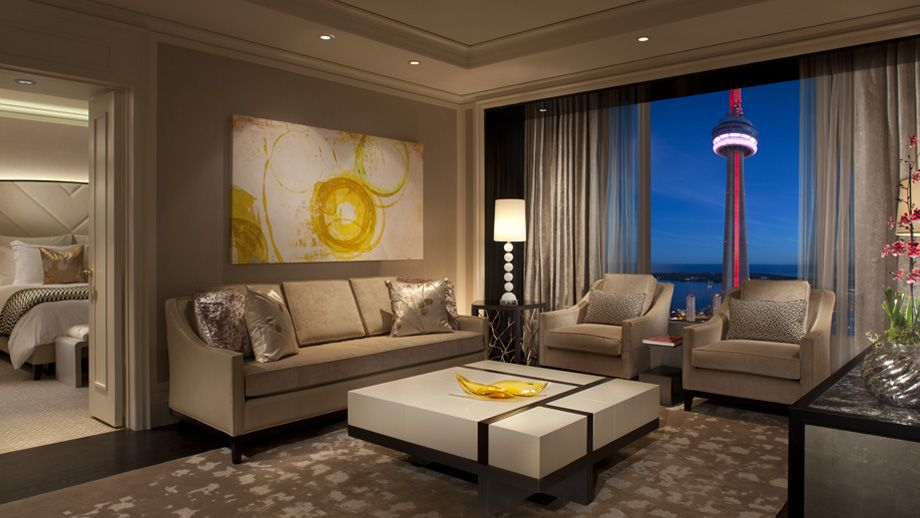 The Newly Created Simcoe Suites At The Ritz Carlton, Toronto Feature A  Large Living Room With A Banquette Seating Area For Guests To Stretch Out  And Enjoy ...