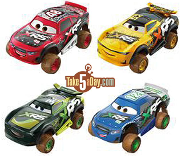 Mattel Disney Pixar Cars Next Xrs Mud Racing Singles Preview