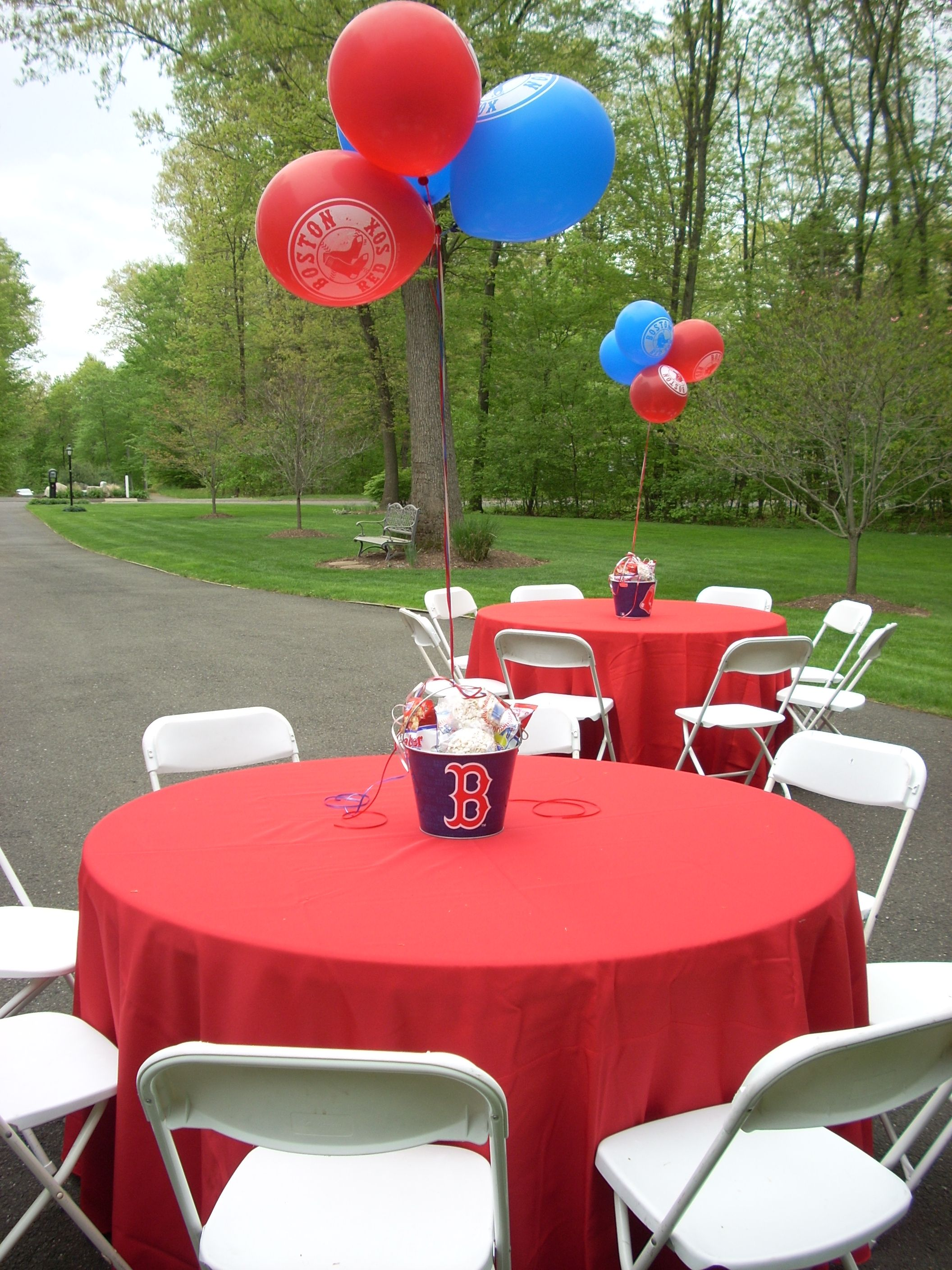 Red Sox Party Kids Birthday Party Baseball Party Decorations