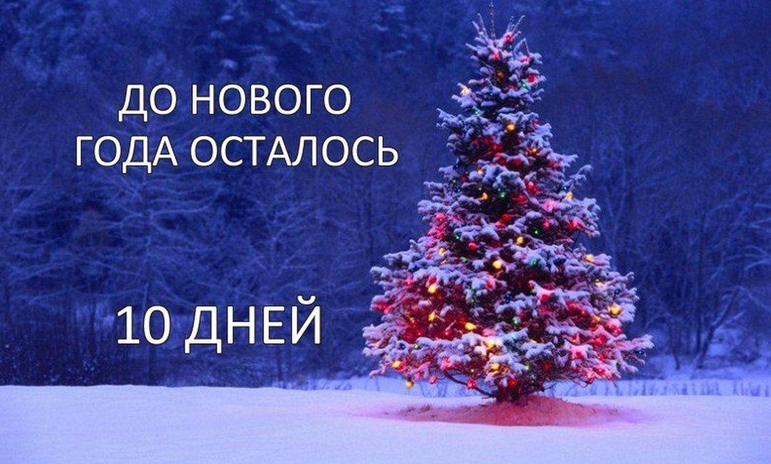 Деда, открытка сколько дней до нового года