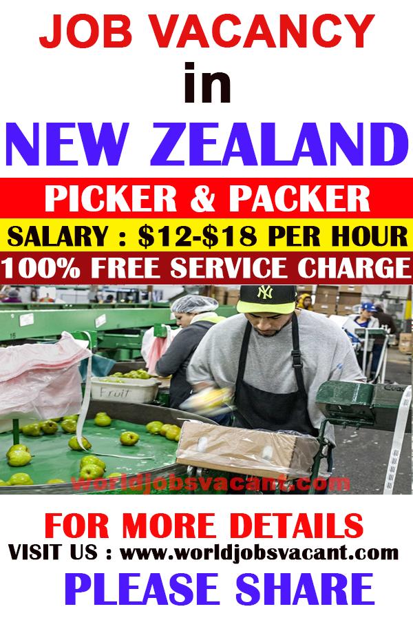 PICKER PACKER WANTED IN NEW ZEALAND Work opportunities