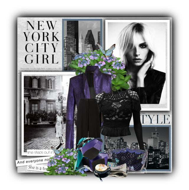 """""""TONIGHT SHE WEARS PURPLE..."""" by audrey-prater ❤ liked on Polyvore"""