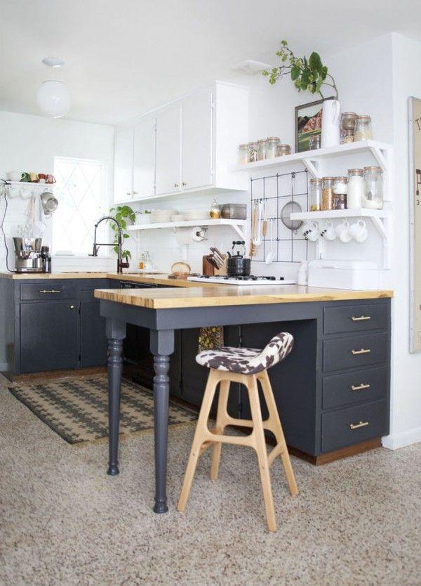 7 ideas ingeniosas para cocinas peque as ideas para - Ideas de cocinas pequenas ...