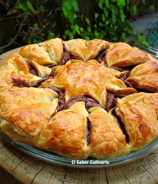 C mo hacer una estrella de hojaldre con nutella en 5 pasos for Como cocinar jabali arguinano