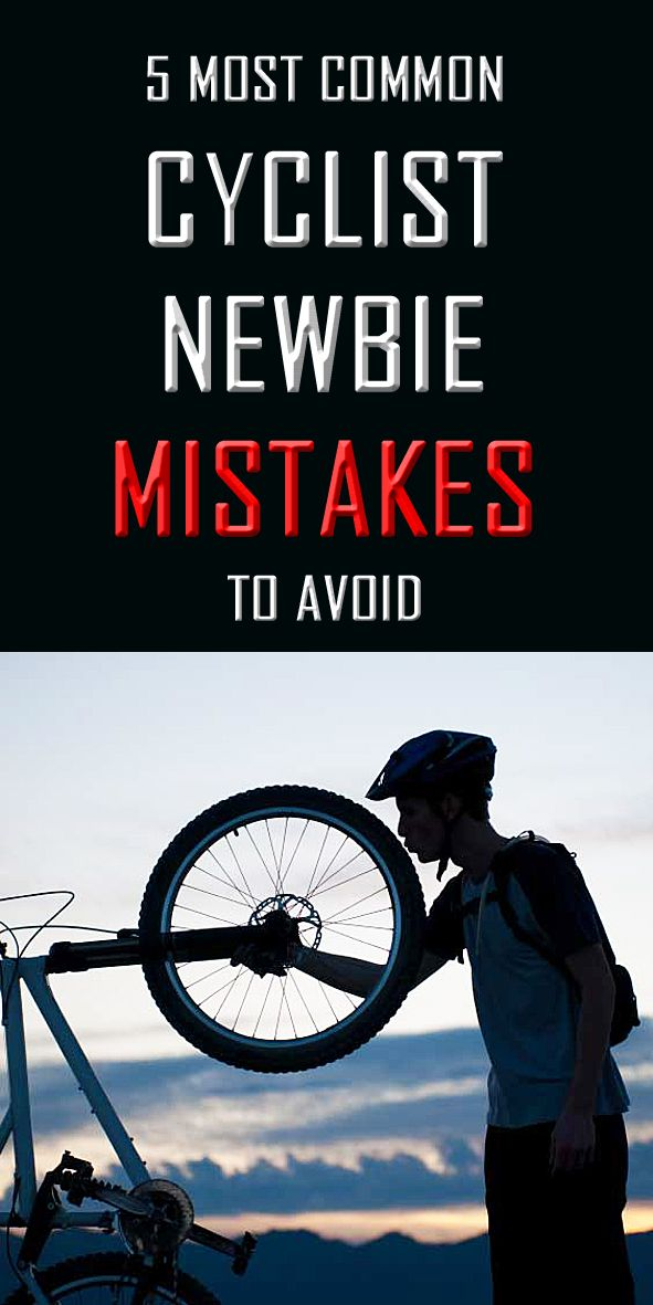 .5 common CYCLIST NEWBIE MISTAKES to avoid. Here are the top 5 mistakes we see being made all the time with people that are new to cycling. We're not going to lie, we've been there ourselves when we were just starting out… #cycling #cyclingmistakes #beginnercycling #cyclingtips #cyclistnewbie