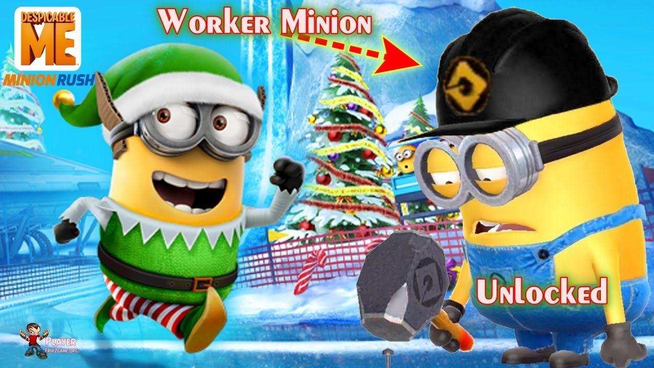 Minion Rush, New Minion, Minion Games Worker Costume