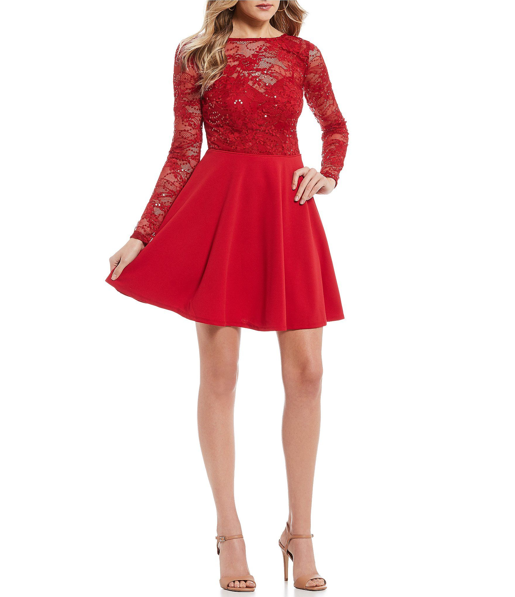 8a73e27ca95 ... dresses vestidos boda rh ar pinterest. bf abc dd fb ca also shop for jodi  kristopher long sleeve bow back fit and