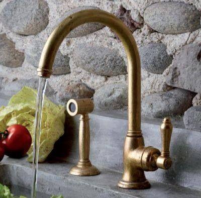 Retro Kuchenarmatur Armaturen Retrobad Nostalgie Faucets