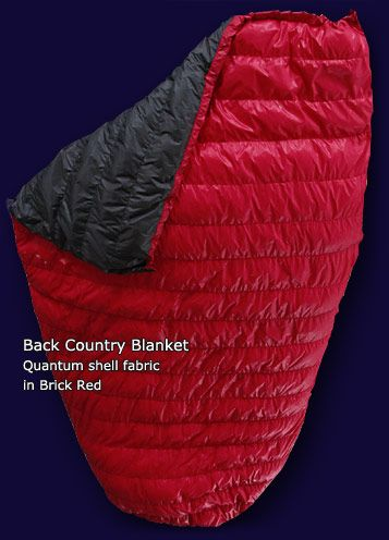 Instead Of Sleeping Bag Back Country Blanket With Epic Fabric S Overstuffed Footbox For People Cold Feet