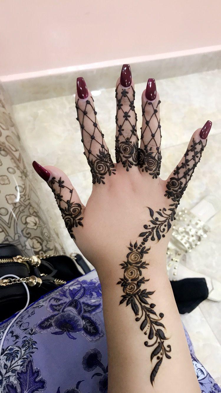 حناء نقش حنا Henna Tattoo Mehndi Designs For Fingers Mehndi Designs For Hands Simple Mehndi Designs
