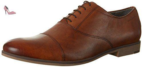 Vagabond Linhope, Chaussures à Lacets Homme, Marron (Cognac), 43 EU