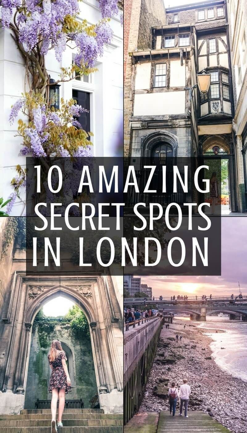 10 quirky, offbeat and unusual secret spots in London youll fall in love with! London, England