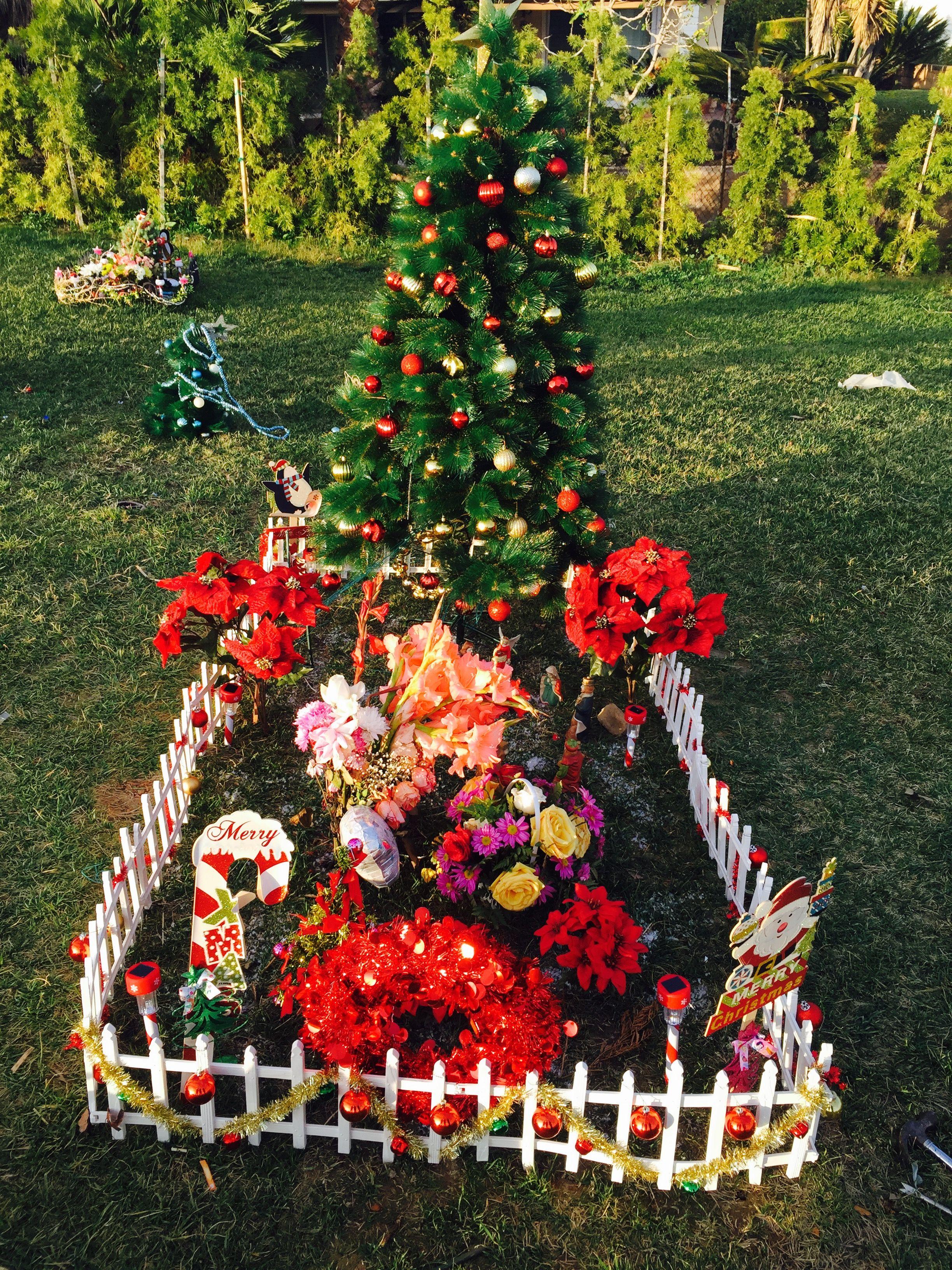 Christmas Decorations Gravesite Decorations Cemetery Decorations