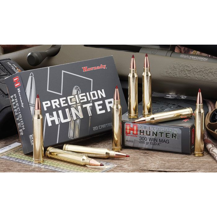 Hornady 308 Win 178 Gr. ELD-X Precision Hunter Ammunition ...