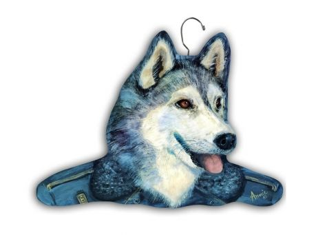 Designer Dog & Cat Themed Hangers by Stupell.  Many variations available - On sale @Coupaw (This is always a crowd pleaser!)