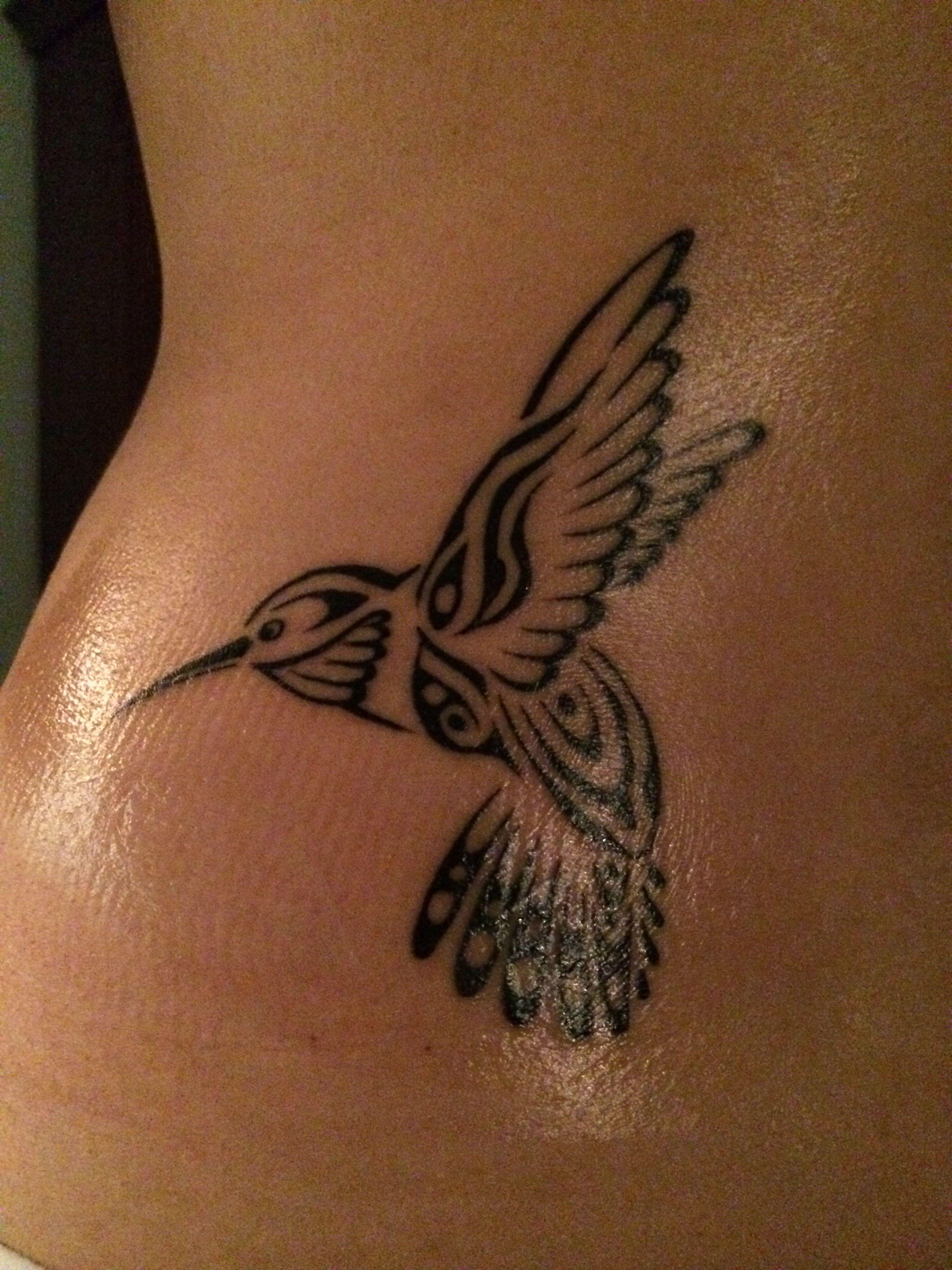 74709d866 My native hummingbird | Ink | Hummingbird tattoo, Tribal tattoos ...