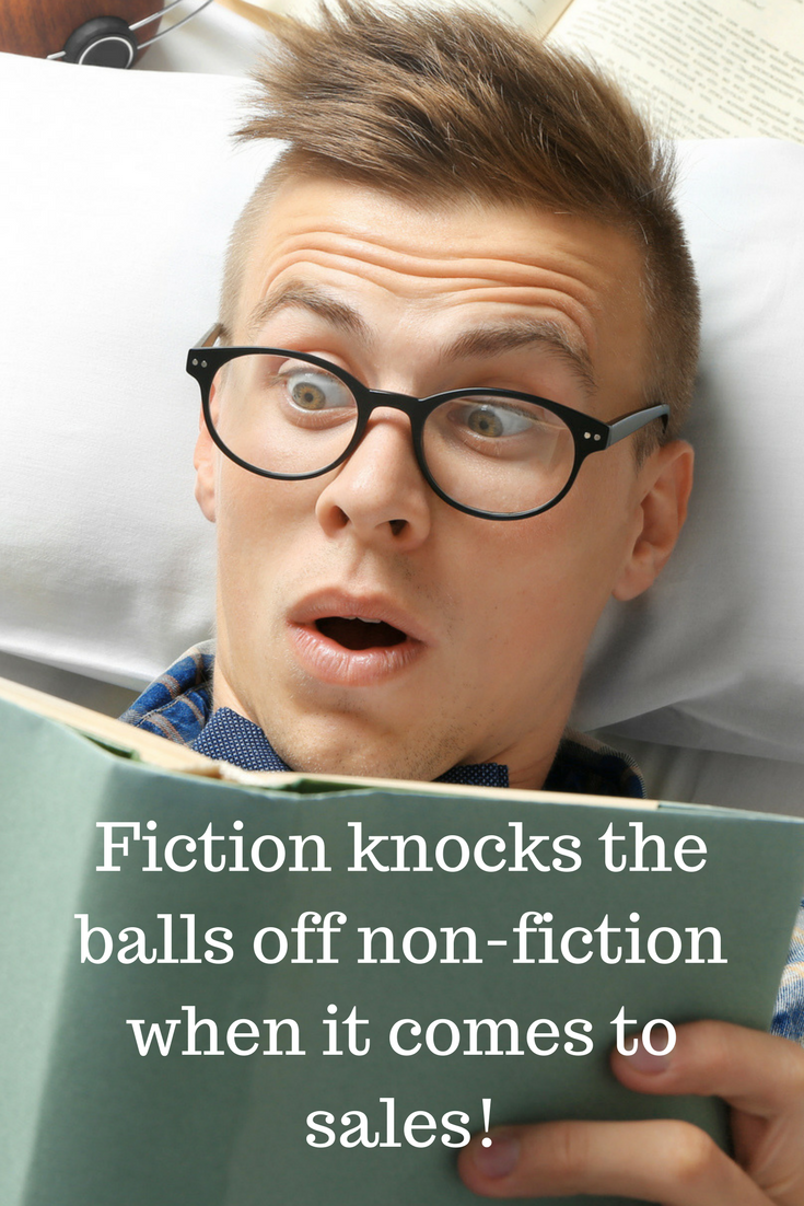 Fiction knocks the balls off nonfiction when it comes to
