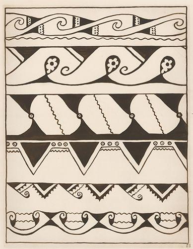 4630159887feb Pima Pottery Designs. American Indian Designs by Inez B. Westlake on ...