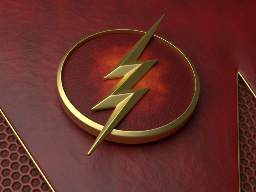 The Flash Wallpaper Logo HD