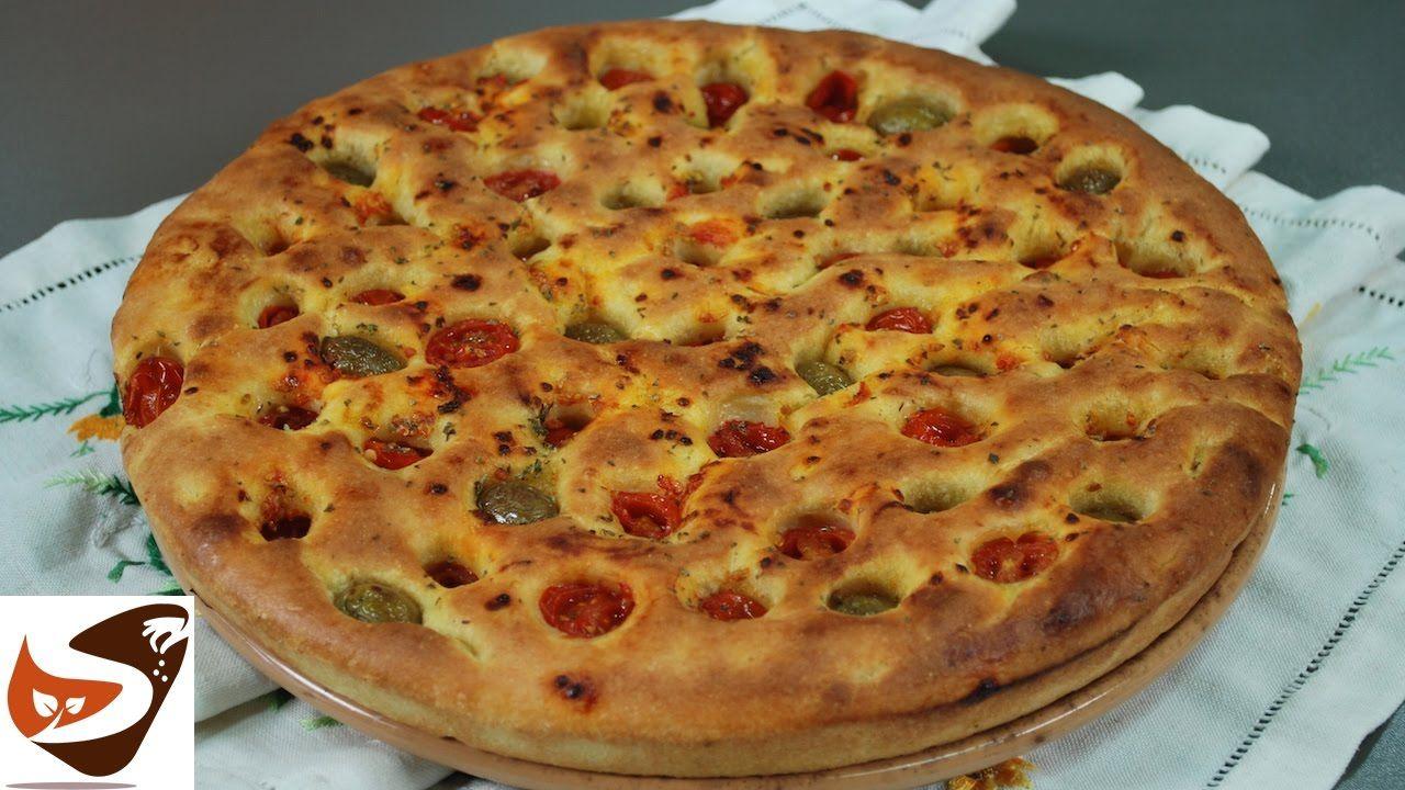 Focaccia pugliese o barese alta croccante e soffice for Alta cucina italiana