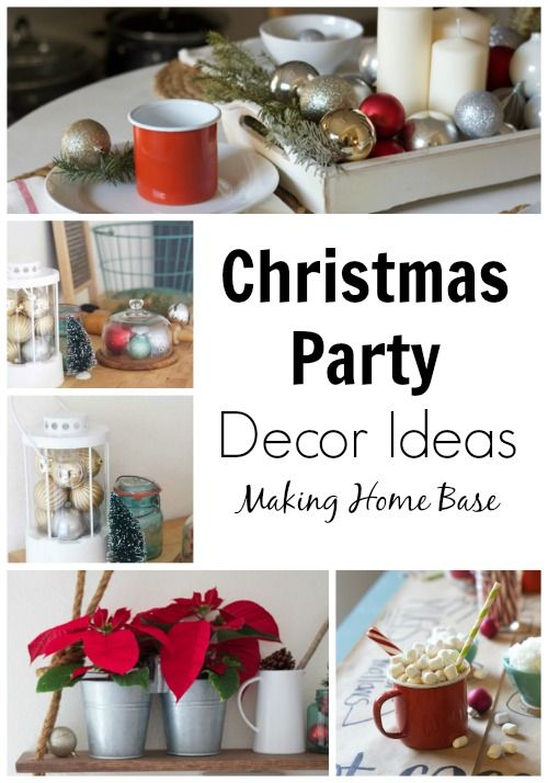 Christmas Party Ideas   Holidays, Winter holidays and Christmas time