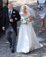 Zara Phillips in abito da sposa   Abiti da sposa, Abiti da