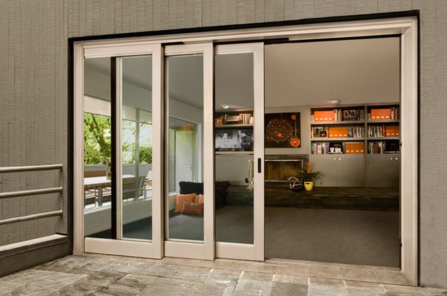 Exterior Sliding Doors Sliding Exterior Door Cabin Pinterest Glass