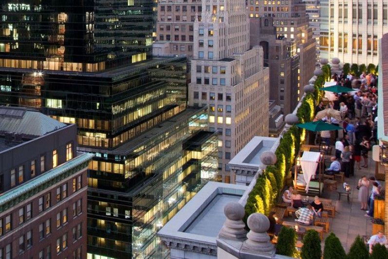 Hotels The Roosevelt Rooftop Bar Nyc Rooftop Bars Nyc Midtown Manhattan Hotels Roosevelt Hotel Nyc