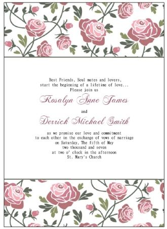 Free Wedding Invitation Templates Theagiot Mevzxik