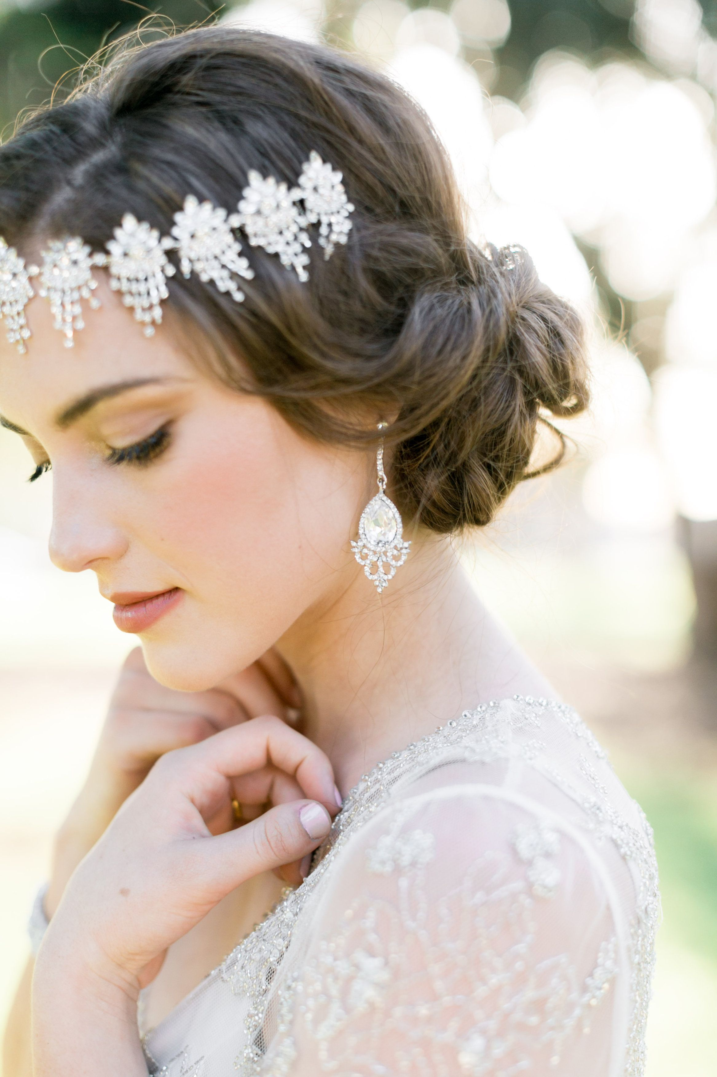 Us inspired bridal makeup and hair by the blushed company