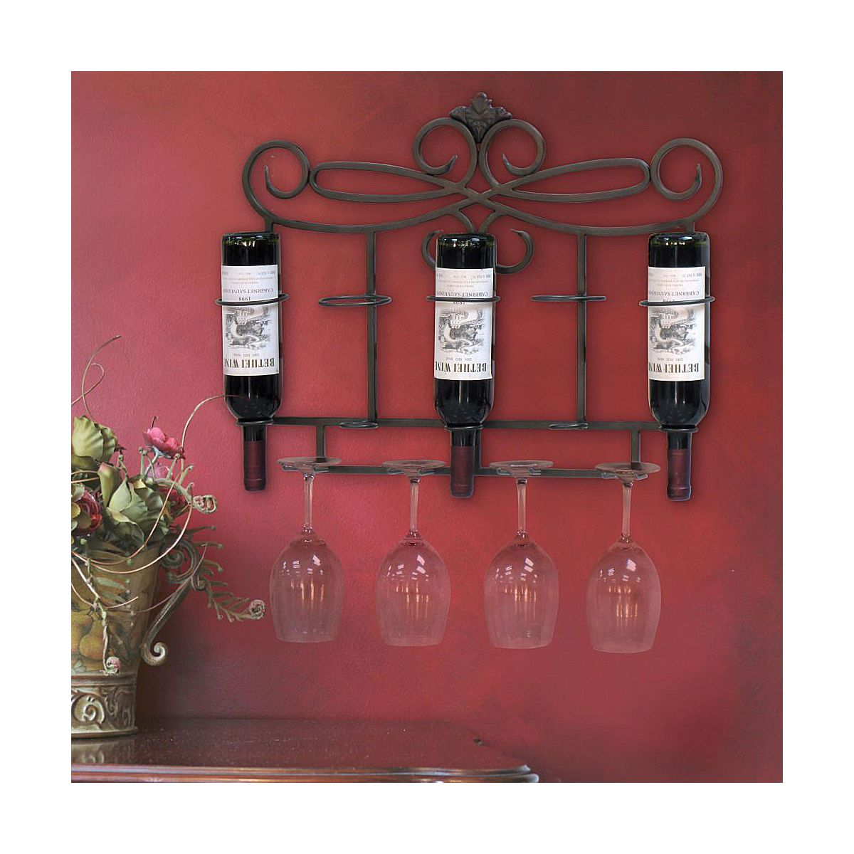 Wine Rack Love Jcp Com Wine Decor Decor Wine Rack