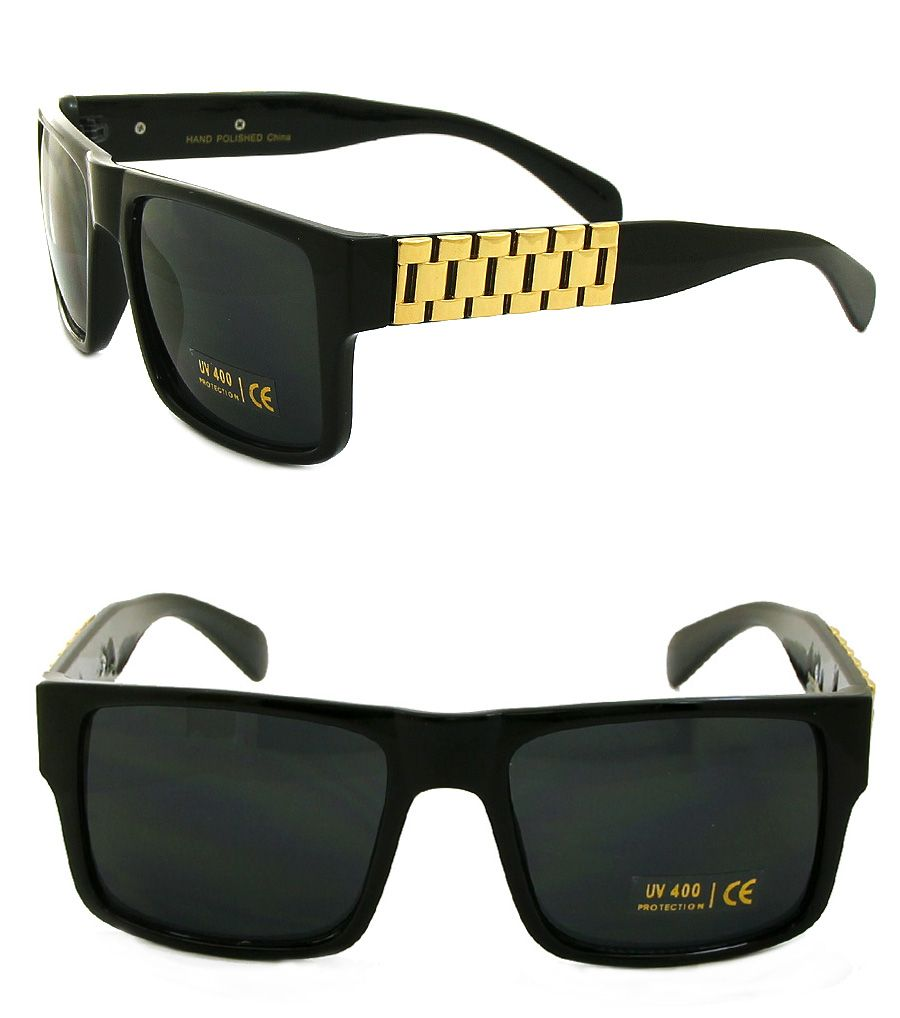 94c987c26c Rolex Chain Black Sunglass | Sunglasses | Gafas, Moda hombre, Anteojos