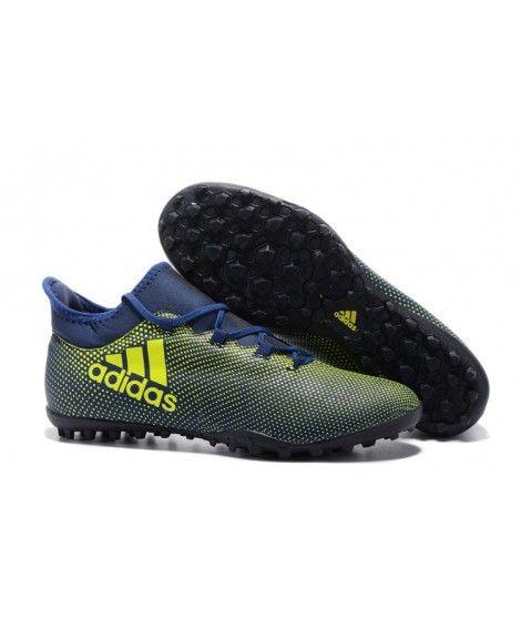 pretty nice 28e03 11c1d Adidas X 17.3 TF KUNSTGRÆS blå Gul sort fodboldstøvler