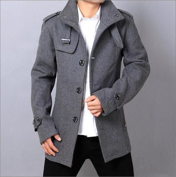 men-s-funnel-neck-trench-coat-jacket-black-light-grey-s-xxl-c03-3 ...