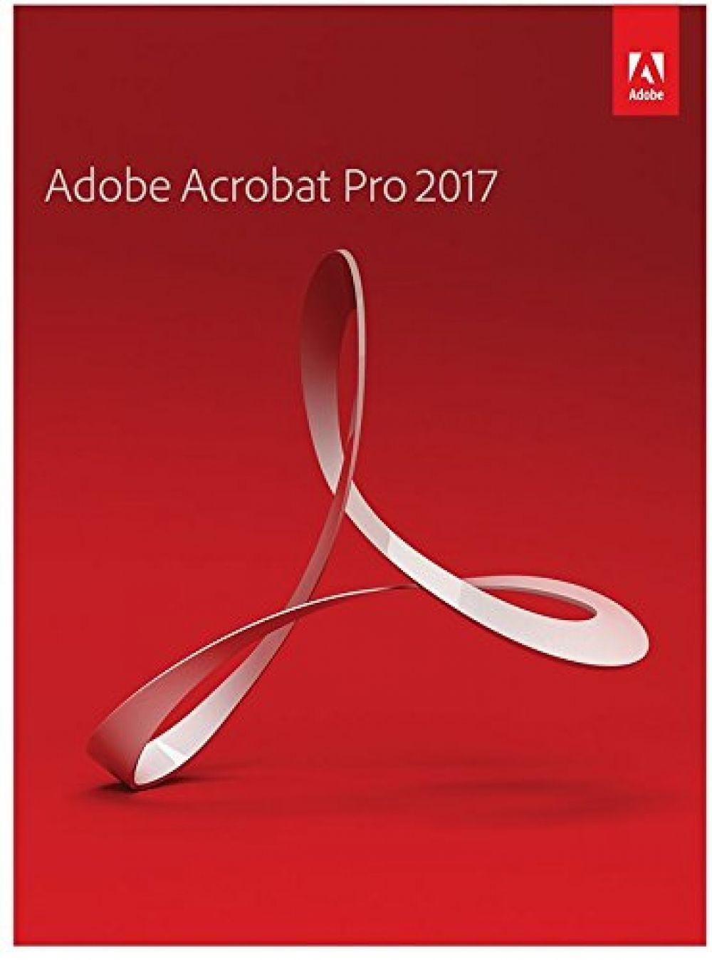 Adobe Acrobat Pro 2017 [PC DISC] Adobe acrobat, Adobe