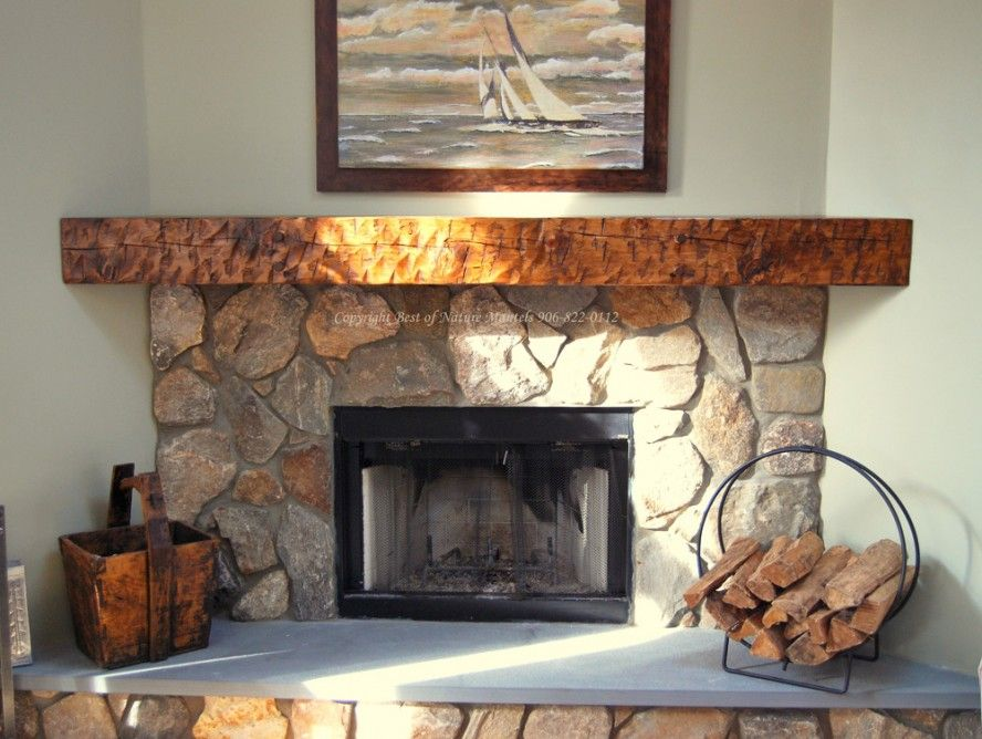 Stone Corner Fireplaces Fireplace Rustic Mantel Kits Nature Canvas