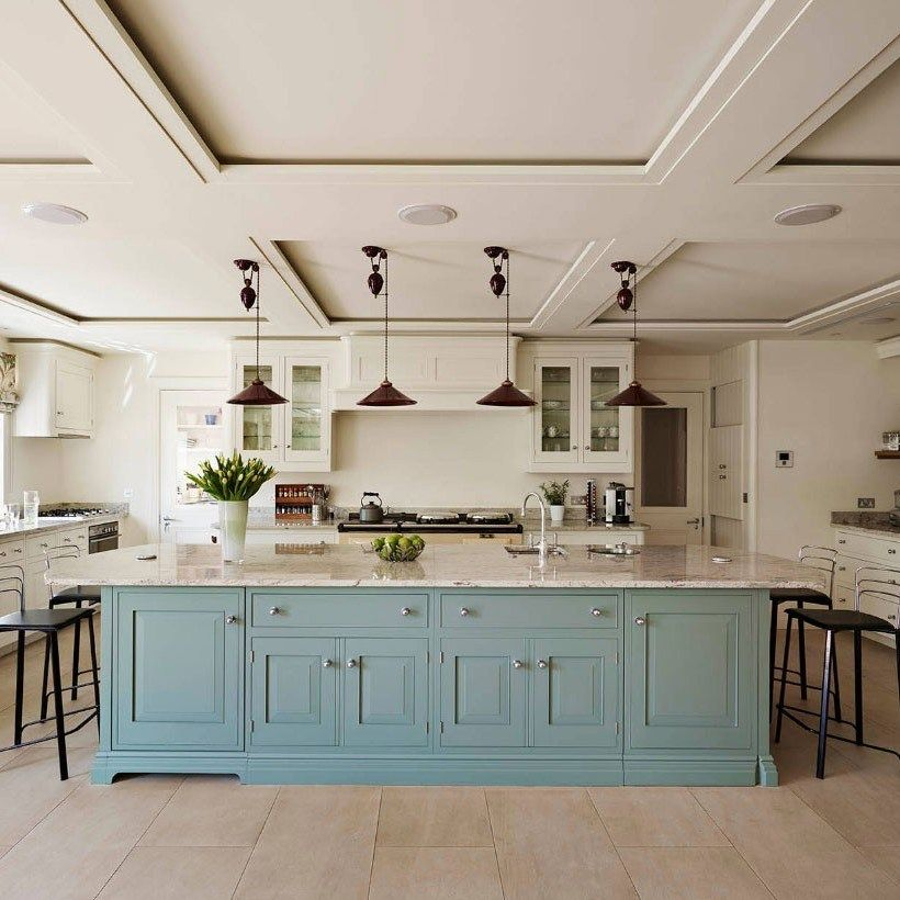 39 unanswered questions about big kitchen island open concept layout futthome blue kitchen on kitchen remodel with island open concept id=98053