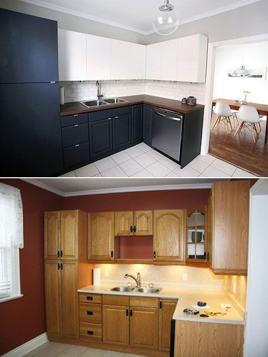 So Clever Renovation Of A Kitchen. I Am So Doing This If I Ever End