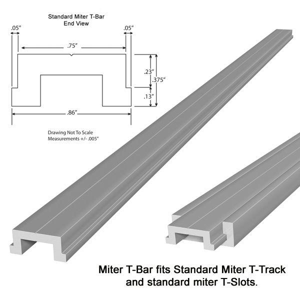 Attractive Standard Miter T Bar